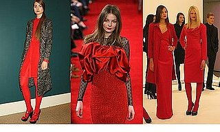 Fall 2009 New York Trend Report: Red Is The Color Of The Season