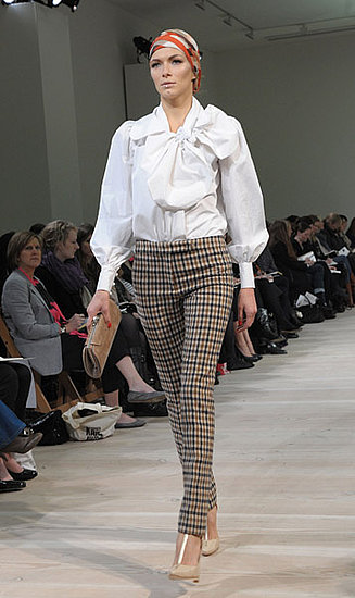 London Fashion Week: Aquascutum Fall 2009