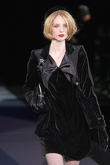 Milan Fashion Week: Emporio Armani Fall 2009
