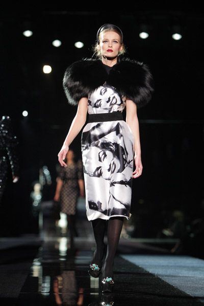 Milan Fashion Week: Dolce & Gabbana Fall 2009