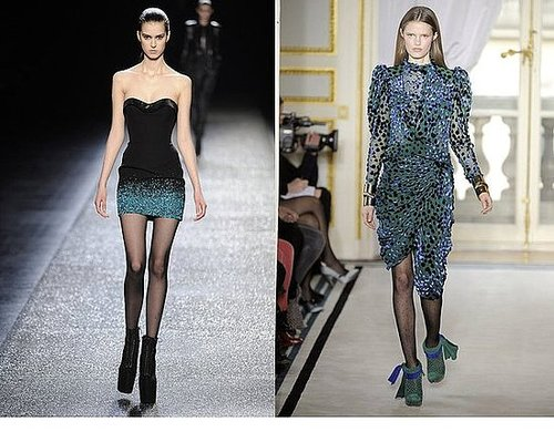 Fall 2009 Paris Trend Report: Sheer Black Hosiery
