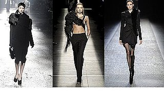 Fall 2009 Paris Trend Report: Asymmetrical Fur
