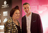 Suzy Menkes and Dries Van Noten