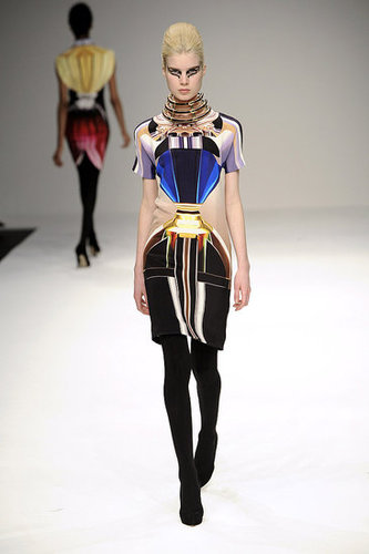 London Fashion Week: Mary Katrantzou Fall 2009