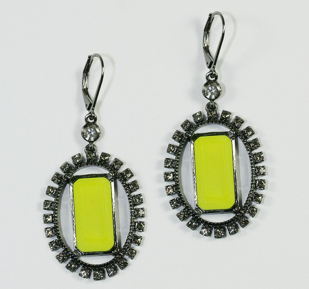 Earrings, $85