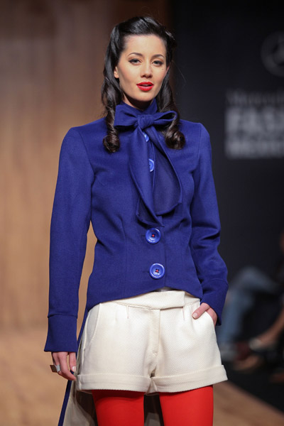 Mexico Fashion Week: Paola Hernandez Fall 2009