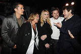 Orlando Bloom, Angela Ahrendts, Christopher Bailey, Claire Danes, Hugh Dancy