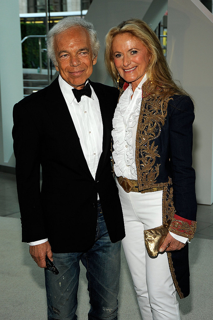 Ralph Lauren and his wife Ricky Low-Beer