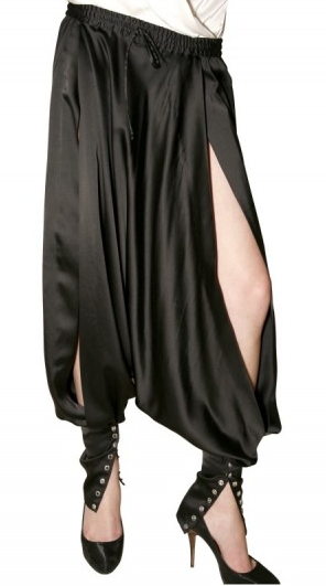 Slit Harem Trouser $3,725 