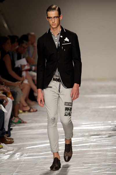 Milan: Moschino Men's Spring 2010