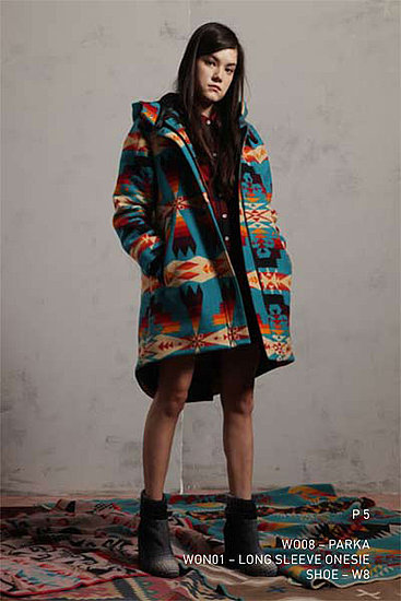 Opening Ceremony Partners with Pendleton for Fall/Winter