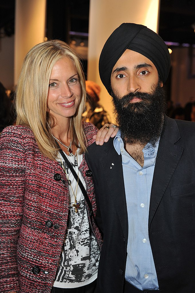 Meredith Melling Burke and Waris Ahluwalia at Theory