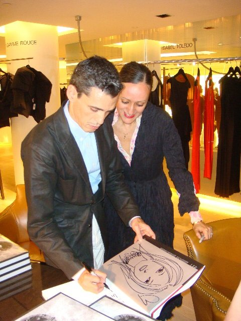 Ruben and Isabel Toledo at Barney's