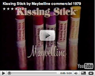 Beauty Flashback: Disco Divas Plug Maybelline's Kissing Stick