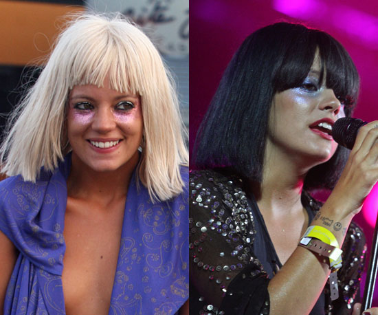 Does Lily Allen make a better blonde or brunette?