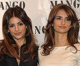 Mónica and Penélope Cruz