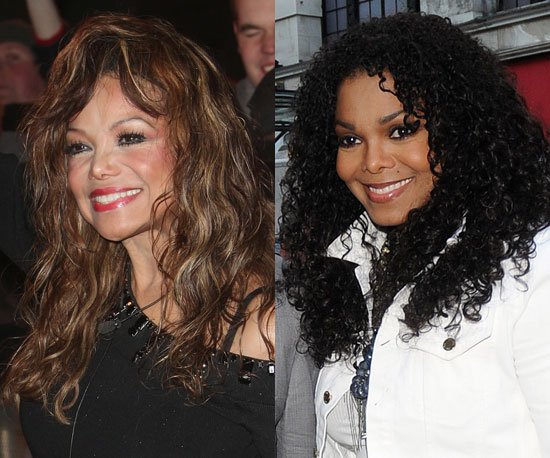 LaToya and Janet Jackson