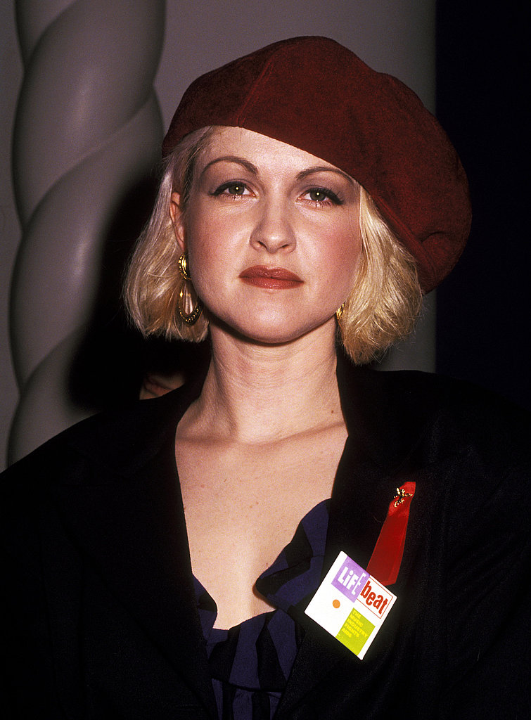 At an AIDS Event, 1992