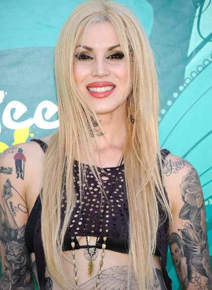 Teen Choice Awards: Kat Von D