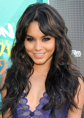 Vanessa Hudgens at the 2009 Teen Choice Awards