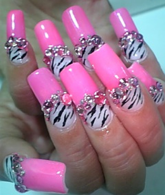 Pink and Zebra