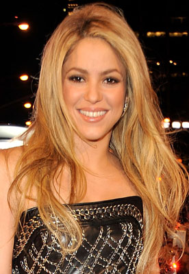 Shakira at the 2009 MTV VMAs