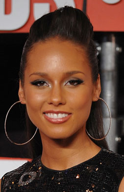 Alicia Keys's Makeup at the 2009 MTV VMAs 2009-09-14 14:45:00