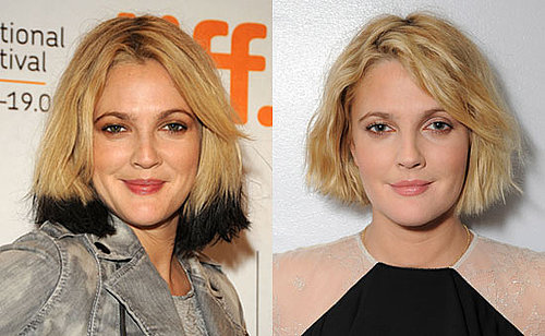 Pictures of Drew Barrymore's New Haircut 2009-09-29 13:04:18