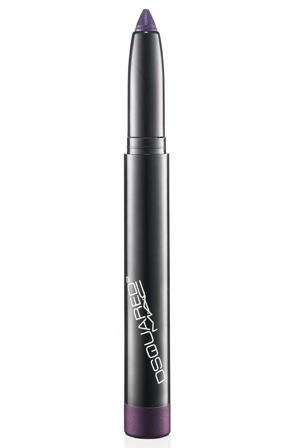 DSquared Greasepaint Stick in V ($17.50), a bright blue violet