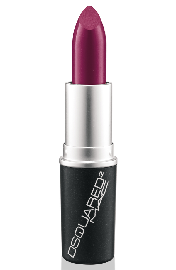 DSquared Lipstick in Blood Red ($14), a clean deep berry