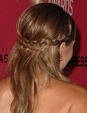 Pictures of Lauren Conrad's Double Braids
