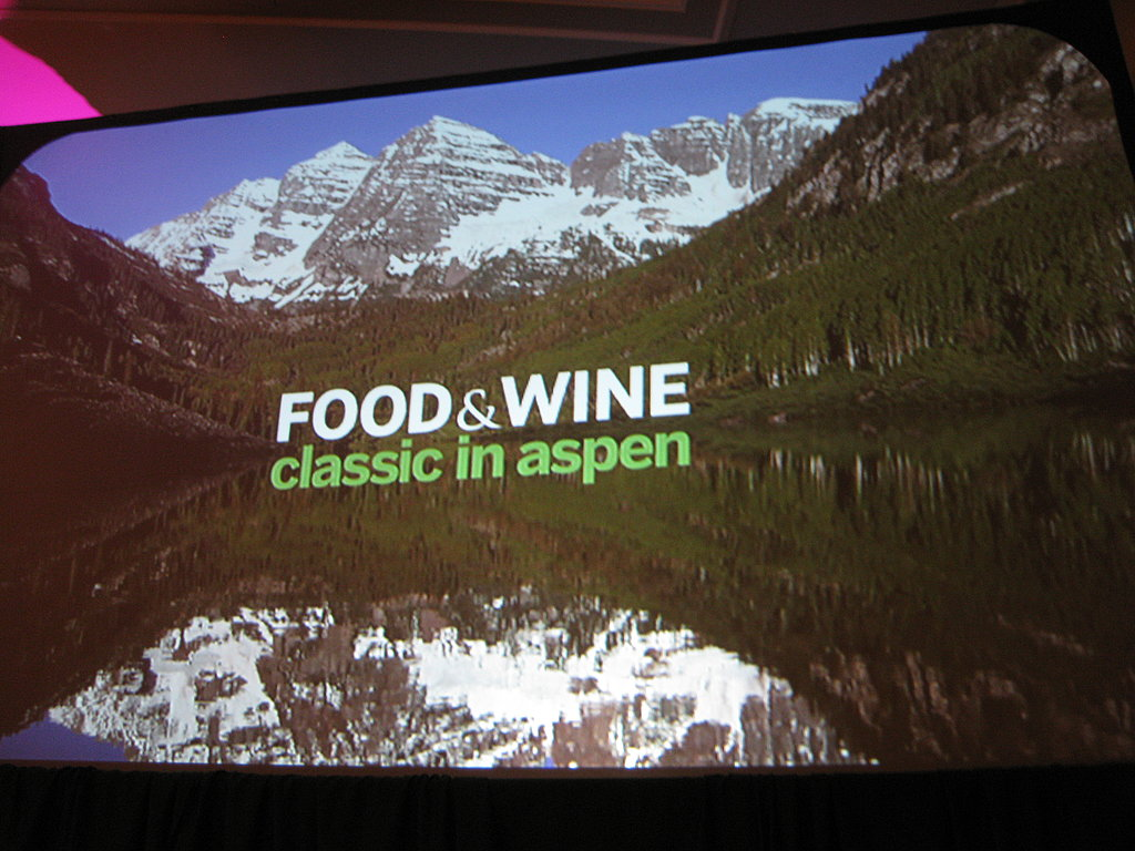 Sneak Peak Aspen Food & Wine Classic