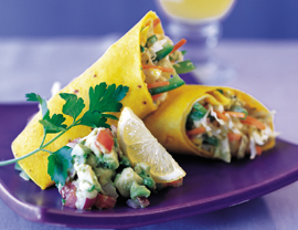 Vegetarian Wrap Recipe