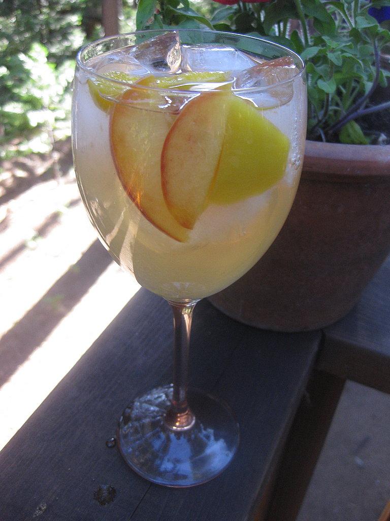 Mango-Peach Sangria
