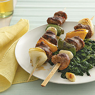 Fast & Easy Recipe For Italian Sausage Kebabs