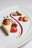 Laura Chenel's Chevre Cheesecake