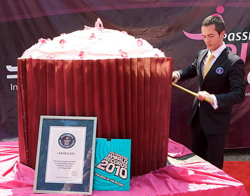 1,224-pound Cupcake Sets New World Record For World's Largest Cupcake