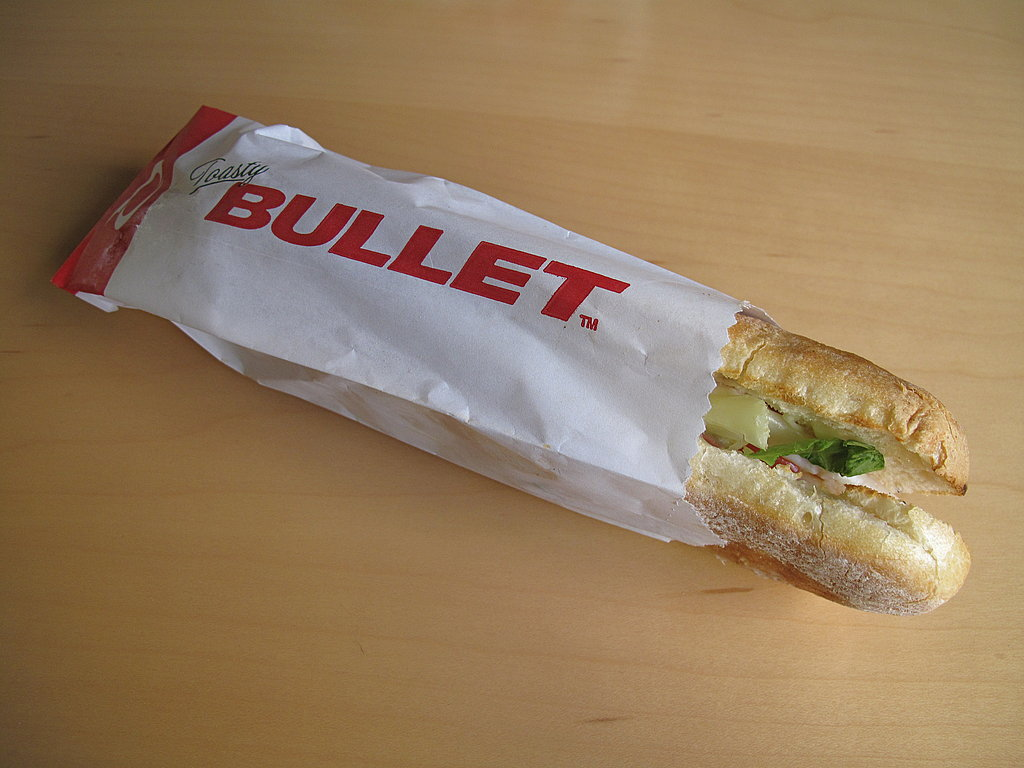 Photos of Toasty Bullets From Quizno's