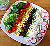 Fast &amp; Easy Recipe For Vegetarian or Vegan Layered Taco Salad