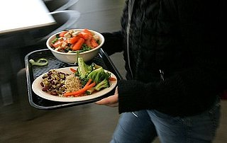 College Cafeterias Banish Serving Trays