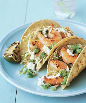 Fast and Easy Grilled Shrimp Taco Recipe