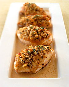 Fast & Easy Recipe For Crisp Mustard-Glazed Chicken Breasts