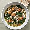 Fast & Easy Dinner For Chicken & Spinach Pesto Soup