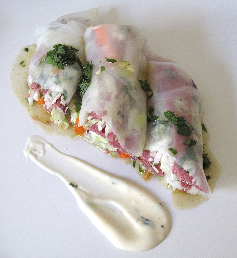 Photo Gallery: Roast Beef Summer Rolls