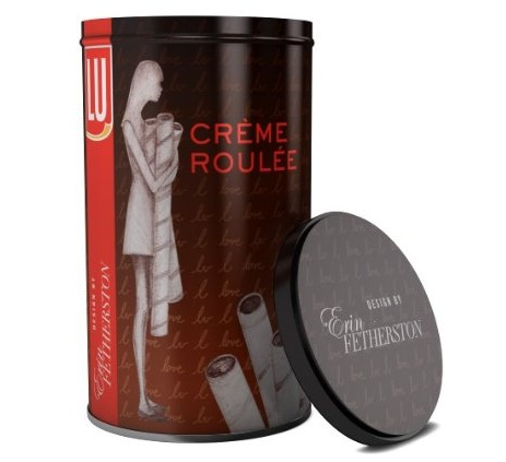 LU Erin Fetherston Designed Creme Roulee Dark Chocolate Biscuits