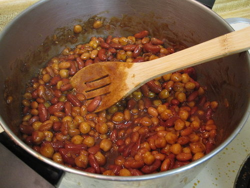 Barbecued Pit Beans