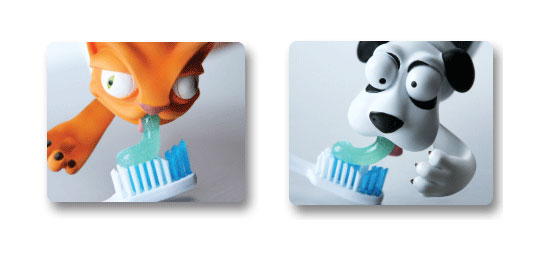 Toothpaste Pete and Toothpaste Oscar
