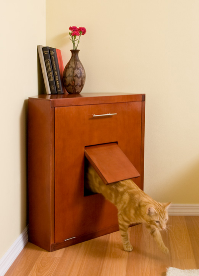Corner Litter Cabinet: Spoiled Sweet or Spoiled Rotten?