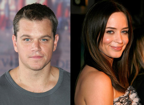 Emily Blunt Joins Matt Damon For The Adjustment Bureau