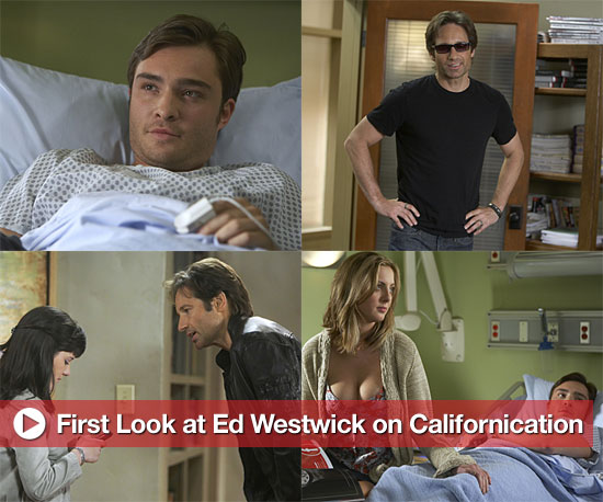 First Photos of Gossip Girl's Ed Westwick on Californication